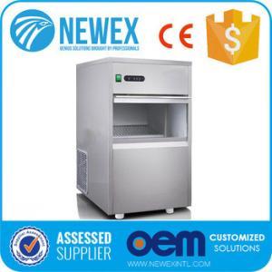 China High Ffficient Refrigerating System Design Commercial Bullet Ice Maker Model NIM-20 on sale