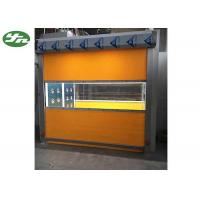 Intelligent  Cleanroom Air Shower / Cargo Air Shower With PVC Curtain Roller Fast Shutter Door