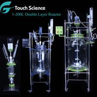 Cheap 1 2 3 5 10 20 30 50 100 150 200 L Liter Jacketed Glass Bioreactor Prices for sale