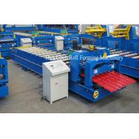 Cheap HC Galvanized/Aluminum Roof Sheet Glazed Tile Roll Forming Machine for sale