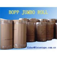 Cheap Bopp packing tape  jumbo roll (with adhesive) for sale