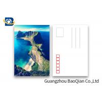 Cheap Scenery 3D Lenticular Postcards / 3 Dimensional Lenticular Greeting Card for sale