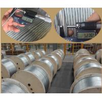China 3/8 inch Steel Overhead Ground Wire 7 wire strand ASTM A363 Galvanized Steel Guy Wire on sale