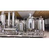 China High Efficiency Low Temperature Herbal Extraction and Concentration Production unit on sale