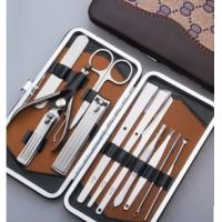 Cheap Hot Selling Fashionable 12pcs Nail Care Manicure Set for sale