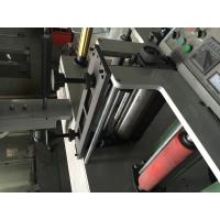 Cheap 7color 320 two units(4+3) Label flexo fabric printer machine self-adhesive sticker/label to mould die cutter for sale