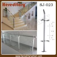 Cheap Single Steel Plate Glass Baluster for Stairs (SJ-023) for sale