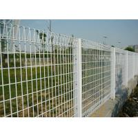 Cheap PVC coated or galvanized BRC welded mesh fence/ Roll Top fence panel for sale