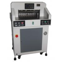 Cheap Hydraulic Programmable Paper Cutting Machine 490mm With Digital Display for sale