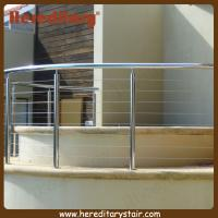 Cheap Stainless Steel Curved Wire Balustrade Fixed Around SPA Area (SJ-681) for sale