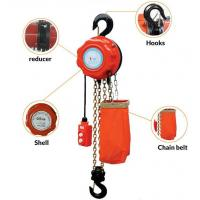 Buy cheap Long Service Life 2 Ton Electric Chain Hoist 3 M/Min Lifting Speed CE Approved from wholesalers