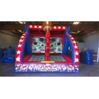 Cheap Pvc Inflatable Sports Games Carnival First Down Football Toss Game For Kids And Adult for sale