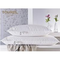 China Quality Miracle Bamboo Fiber Square Hotel Pillows For Stomach Side Sleepers on sale