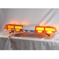 Cheap 1.2m White / Green Auto Flash Led Warning Light Bar For Truck / Car , Dustproof for sale