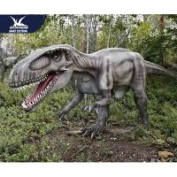 Cheap Theme Park Robotic Life Size Realistic Dinosaur Models With 12 Months Warranty for sale