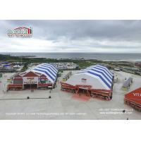 China 20M X 40M Arched Roof Outdoor Event Tents with Colorful Cover for Beer Festival on sale