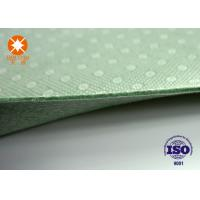 Cheap Laminated Nonwoven Fabric Needle Punched Felt Backing With PVC Dots 4m Width for sale