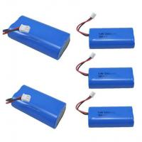 Cheap 7.4V 2600mAh Mobile Warming Battery For Heated Jackets / Vests , 1C Discharge Rate for sale