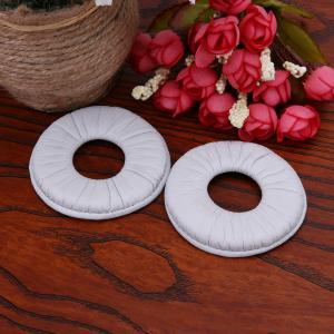 Cheap White color frogskin Ear Pad Earpads Soft Foam Cushion For MDR-V150 V250 V300 V100 Headphones for sale
