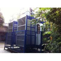 Cheap 2000kgs Operator Cab Construction Material Hoists Dual Cage SC200 / 200 for sale