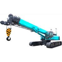 Cheap U Type High duty hydraulic mobile crane with smooth rotation , 11.2m Jib length wholesale