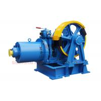 Cheap VVVF Lift Traction Machine Traction Elevator Components , Right Sheave Position for sale