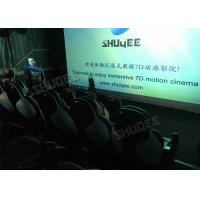 Cheap Ergonomic 5D Theater System Motion Durable Seats In Commercial Center for sale