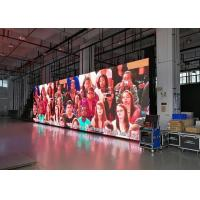 Cheap Scan 1 / 16 Refresh Led Video Screen Rental , Black Face SMD2020 16 Bits Led Mesh Screen for sale