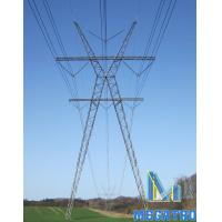 Cheap 400KV X-TYPE lattice steel tower for sale