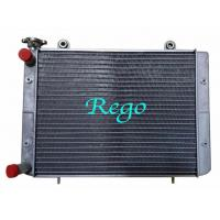 China High Effciency Brazed Aluminum Cores ATV Radiator Aftermarket Replacement on sale