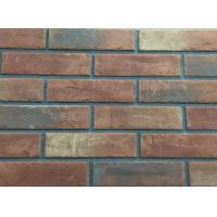 Cheap 3D206 Acid Resistance Turned Color Interior Brick Wall Clay Material wholesale