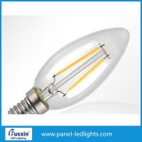 Cheap Plastic 2w 4w Led Bulb Light / Led Filament Bulb For Table Light , Wall Light for sale