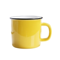 Cheap Mixed Color 350CC 12x8.5x8.2cm Personalised Ceramic Mugs for sale
