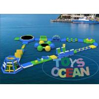 Cheap Ultimate Huge Inflatable Water Park For Lake Floating Customized for sale