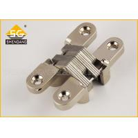 Cheap Zinc Alloy 180 Degree Invisible American Hinge For Interior Cupboard Door for sale