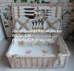 Cheap wicker basket wicker picnic basket Cheristmas basket for sale