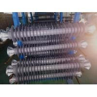 Cheap Customized 110kV 17.2kN Polymer Line Post Insulator With Flanges Coupling for sale