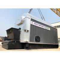 Cheap Industrial 4 Ton Wood Coal Fired Steam Boiler Automatic Coal Feeding for sale