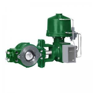 Green Fisher Diaphragm Actuator , Fisher Gas Regulator V250 Control Valve
