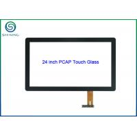 """Cheap 24"""" Glass-on-glass Projected Capacitive Touch Screen For Multi-touch Monitor for sale"""