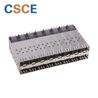 Cheap Metal EMI Female SFP Cage Connector Press - Fit Type Without Light Pipe for sale