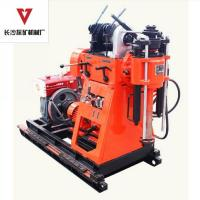 Cheap 150m  Soil Boring Geotechnical Drill Rig With Mud Pump Incorporated For Soil Testing Multiple Function wholesale