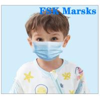 Cheap Boys  Girls Kids Face Mask Disposable Children'S Medical Masks 4 - 12 Years for sale