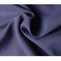 Cheap Purple 100% Polyester Woven Fabric 78 Gsm Customized Color Eco - Friendly for sale