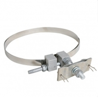 Cheap Good Stability Stainless Steel OPGW Metal Type Down Lead Clamp For Tower for sale