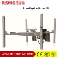 Cheap Hydraulic design wheel alignment used 4 post car lift for garage for sale