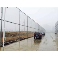 Cheap Hot Dipped Galvanized Powder Coated Chain Link Fence For Commercial / Industrial Projects for sale