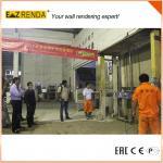 Cheap Automatic Rendering concrete plastering machine 100Kg 1150*700*500 MM for sale