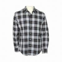 Cheap Men's Fashionable Shirt, Comfortable to Wear for sale