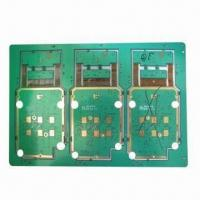Cheap 8-layered Rigid-flex PCB with Immersion Gold Surface Treatment and 3-mil Line Width for Telecom for sale